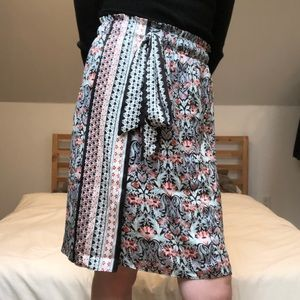 Loft Silk-like Skirt
